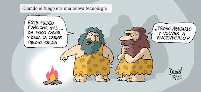 Imagen del técnico prehistórico