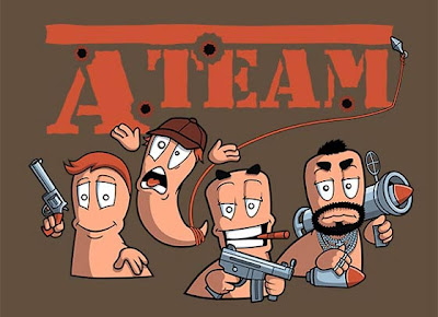 Imagen de The A-Team estilo Worms