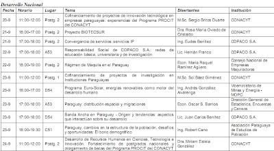 Imagen del programa sobre Desarrollo Nacional