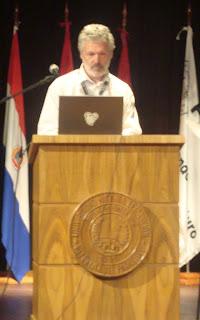 Imagen de Walter Bender en el CLEI 2010