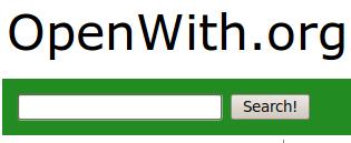 Imagen del sitio OpenWith