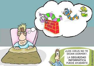 Imagen de la seguridad informática