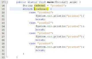 Imagen de una nueva característica de java 7