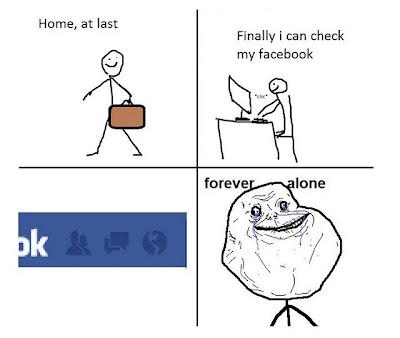 Imagen de Forever Alone - Facebook