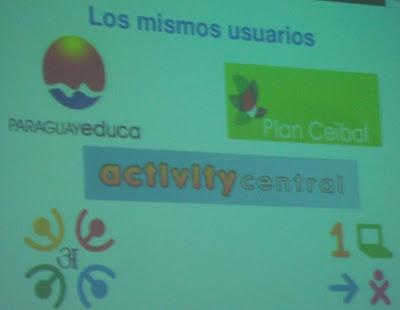 Imagen de Martín Abente sobre Sugar (plataforma educativa) en Latinoware 2010