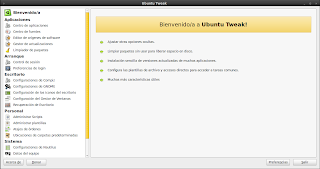 Imagen de Ubuntu Tweak 0.5.10