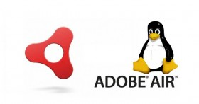 Imagen de Adobe Air con Tux