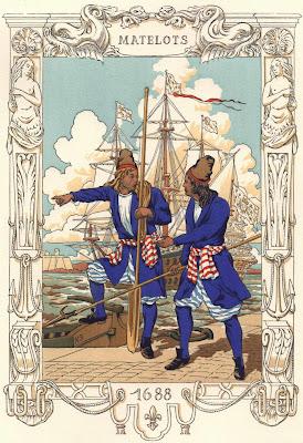 Histoires du nord la marine de louis xiv et dunkerque for Cuisinier louis 14
