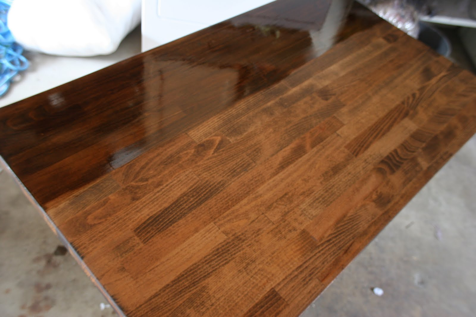 Rocky Bella: Butcher Block Counter