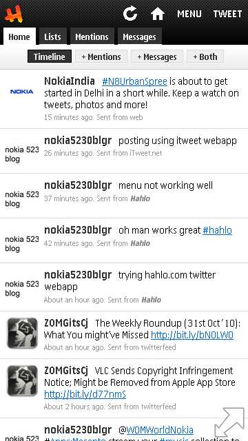 12110 nokia 5230 blog hahlo is a twitter webapp which is as powerful and works like a native appis is a good alternative to try out to know how powerful webapps can be urtaz Image collections