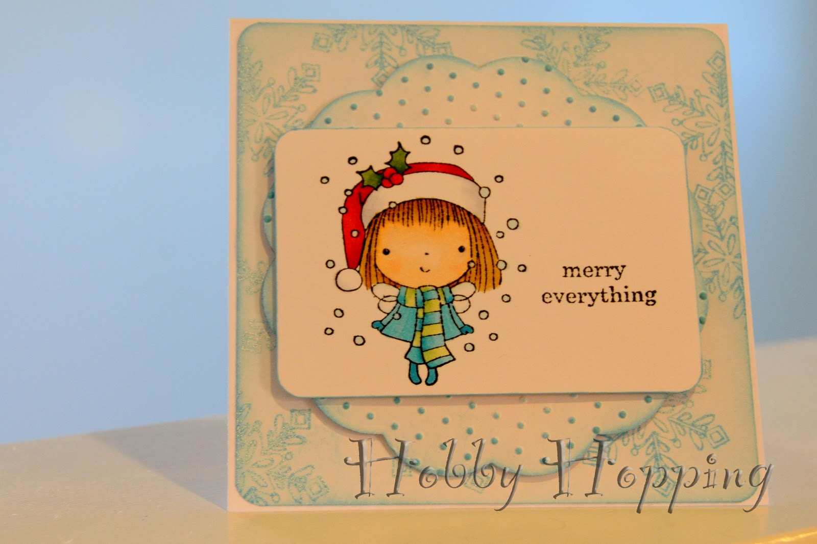I\'m Dreaming of a White (Paper) Christmas (Card) | Inklings & Yarns