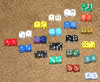 2d6 dice distribution