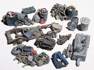 Hiawatha hobbies HO Assorted Junk Piles
