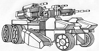 Diomedes UAV Steven Satak Battletech Reader TRO:3063