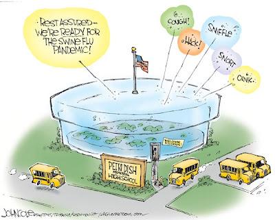 John Cole political cartoon