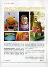 One of my cakes was published in a cake magazine!