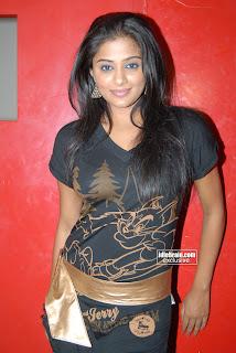 Priyamani Hot Pics In Black Dress
