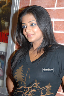 Priyamani Hot Pics In Black Dress
