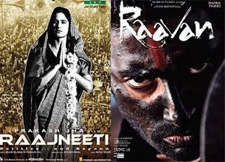 Box office - 'Raajneeti' a blockbuster, 'Raavan' flops