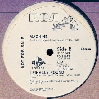 Machine - I Finally Found (1980)