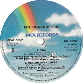 The Controllers - Undercover Lover; from the LP Controllers (1984)