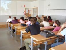 Aula de la Facultad de Comunicación