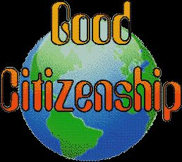 Examples of a Good Citizen http://selmagumus.blogspot.com/2010/11/good-citizenship.html