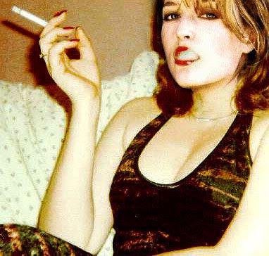 ... between seduction and brawny gray matter like Gillian Anderson.