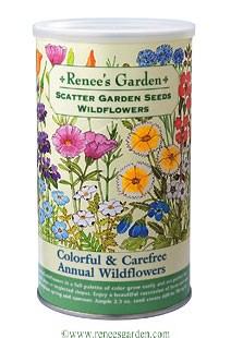 Wildflower Garden Ideas annual wildflowers Sowing Renees Scatter Gardens
