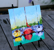Free Easel With Your Painting