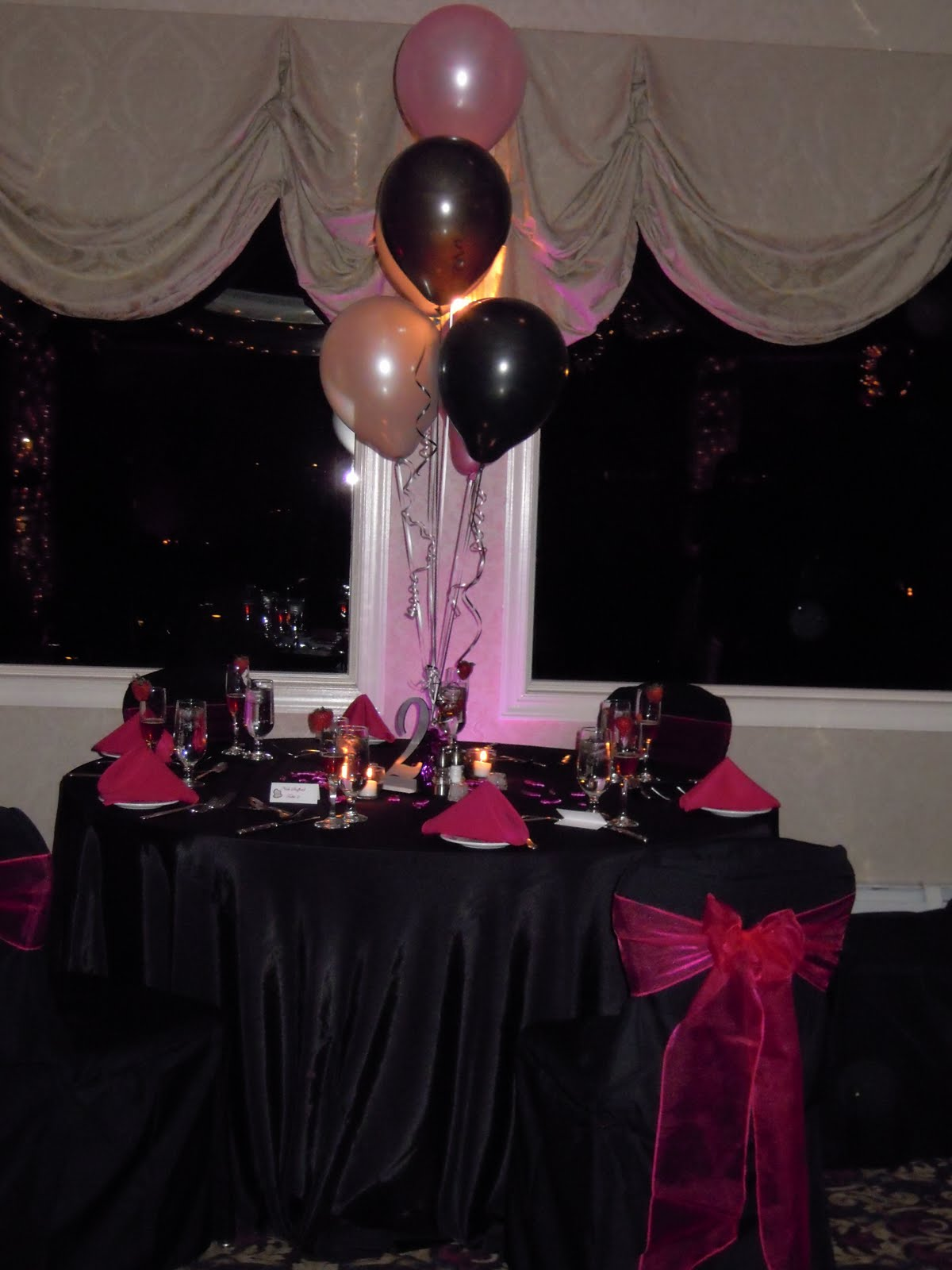 Sweet 16 table centerpieces happy sweet sixteen natalie