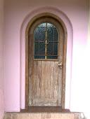 Porta madeira de demolição