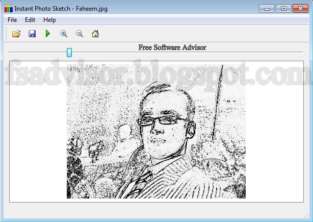 Convert Digital Images Into Pencil Sketch Free Softwares
