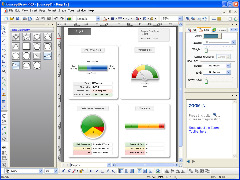 Conceptdraw pro 7 full version free download with serial number free softwares advisor Free drawing programs