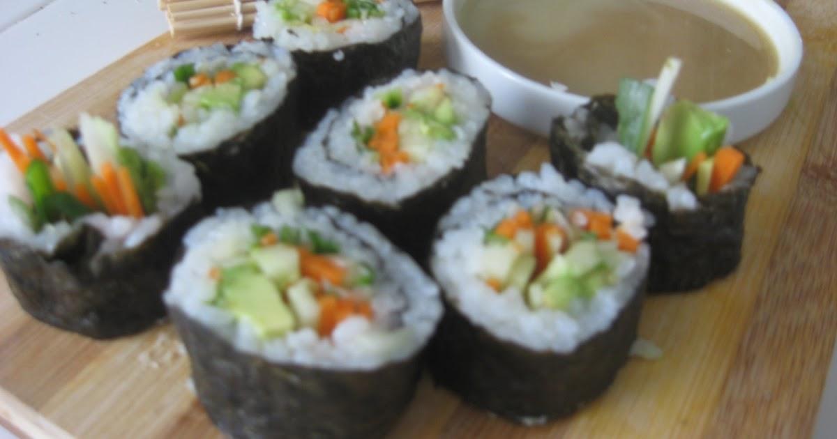 Dreamin' It Vegan: Vegetable Nori Rolls