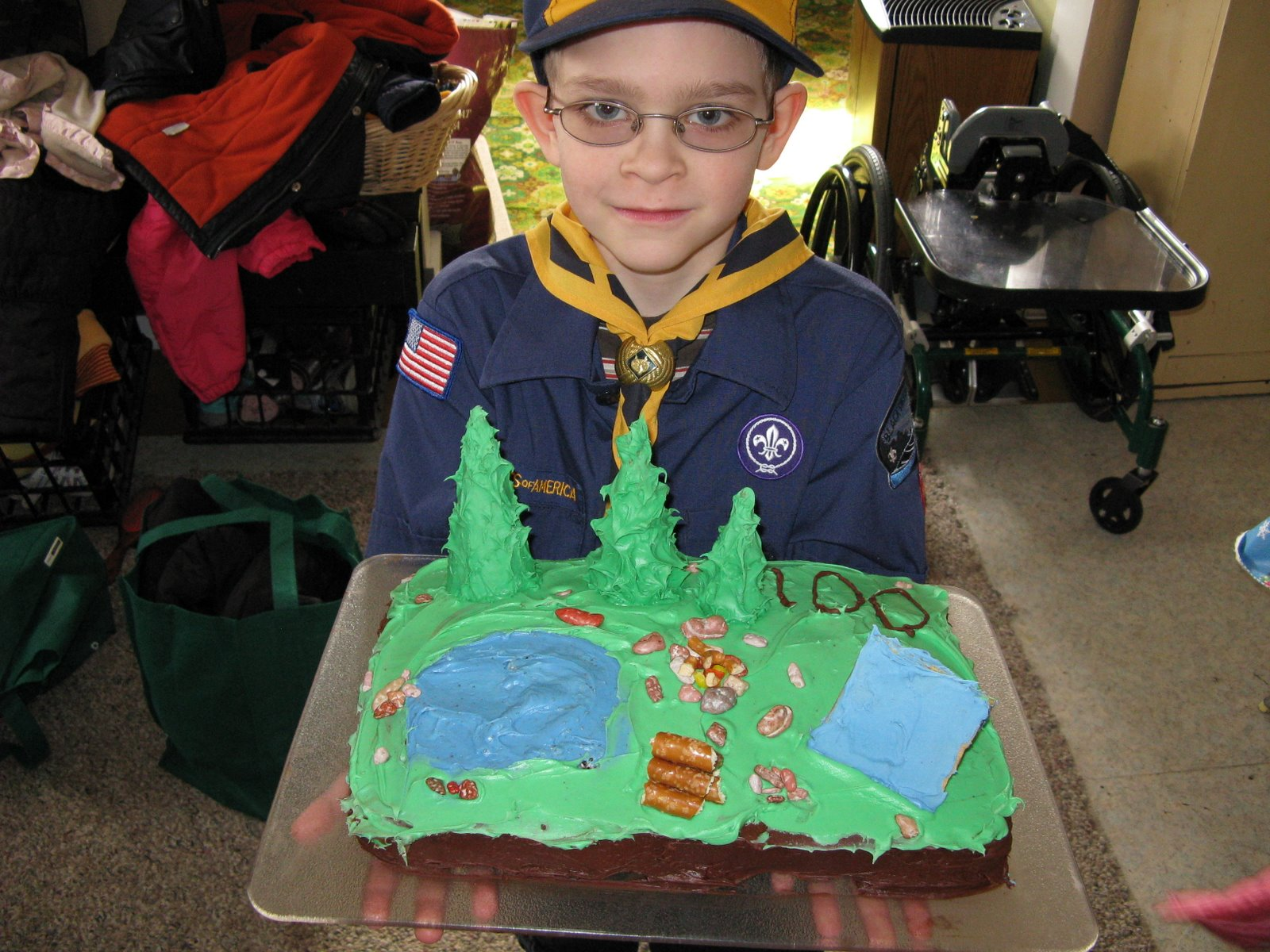 Cub Scout Blue And Gold Birthday Cake Contest Awards Bed Mattress Sale