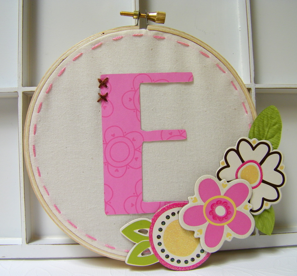 More paper please diy embroidery hoop for the wall