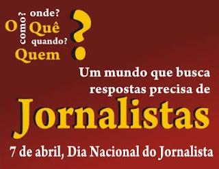 Max de Zé de Toinho parabeniza os jornalistas pelo seu dia