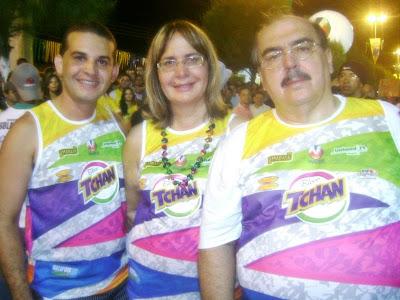 MAX DE ZÉ DE TOINHO, REGINA PASSOS E ANTÔNIO PASSOS prestigiam a Micarana 2010.