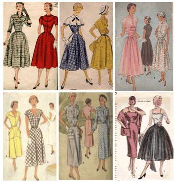 Bibilovesit Moda En Los A Os 50