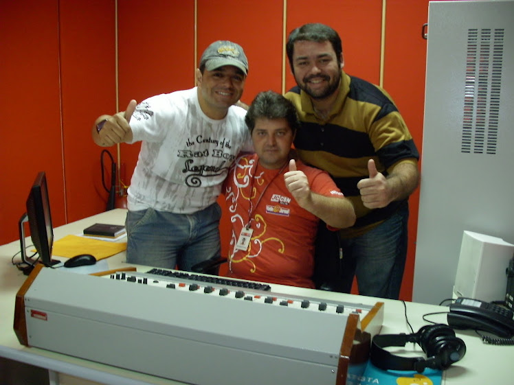Rodrigo reis em Entrevista na Rádio Jornal de limoeiro-PE