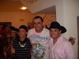 Rodrigo Reis e o amigo Frank Aguiar