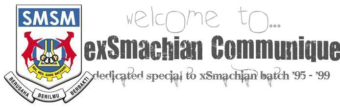 exSmachian99 Communique