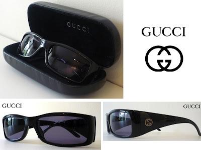 Lunettes de soleil GUCCI 2493 noir - vide dressing luxe