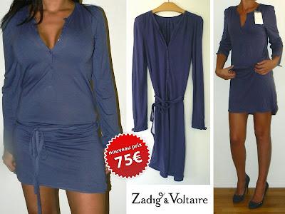 vide dressing - Robe neuve Zadig et Voltaire