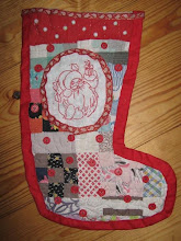 Cutter quilt stocking