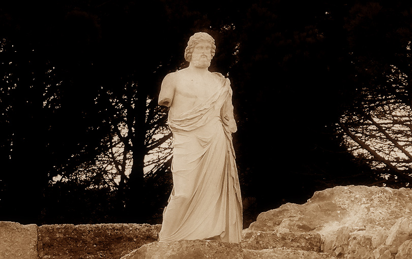 asklépiós asclepio asclepi deu grec dios griego god medicina medicine emporium empuries ampurias ampuria