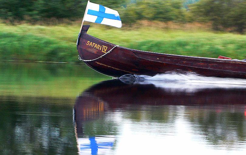 safari canoa canoe river ounasjoki riu rio kemijoki excursio excursion navegar finlandia