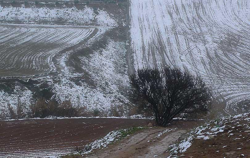 rastres neu rastros nieve traces snow paisatje nevat paisaje nevado snowy landscape