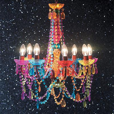 lustre multicolore